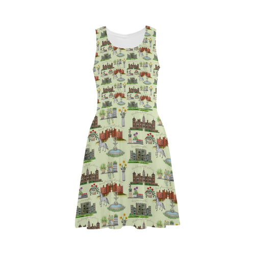 Anne Boleyn's Homes and a Summer English Garden Atalanta Sundress