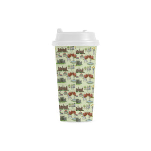 Anne Boleyn's Homes and a Summer English Garden Double Wall Plastic Mug