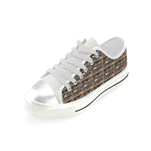 Cats+Books low top sneakers Women's Classic Canvas Shoes