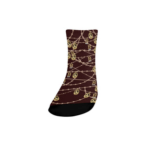 Anne Boleyn Quarter Socks
