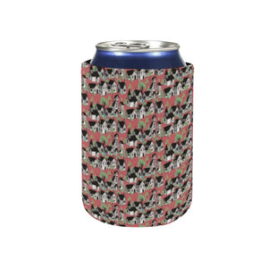 Medieval Village Neoprene Can Sleeve (4 inches)