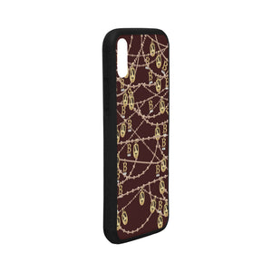 Anne Boleyn Portrait Pattern iPhone X Case