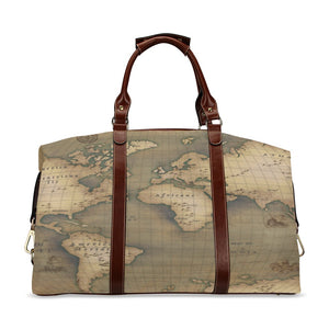 Old Map Classic Travel Bag