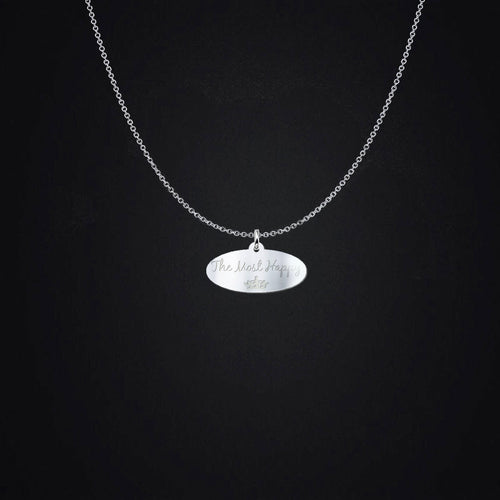 The Most Happy Sterling Silver Necklace