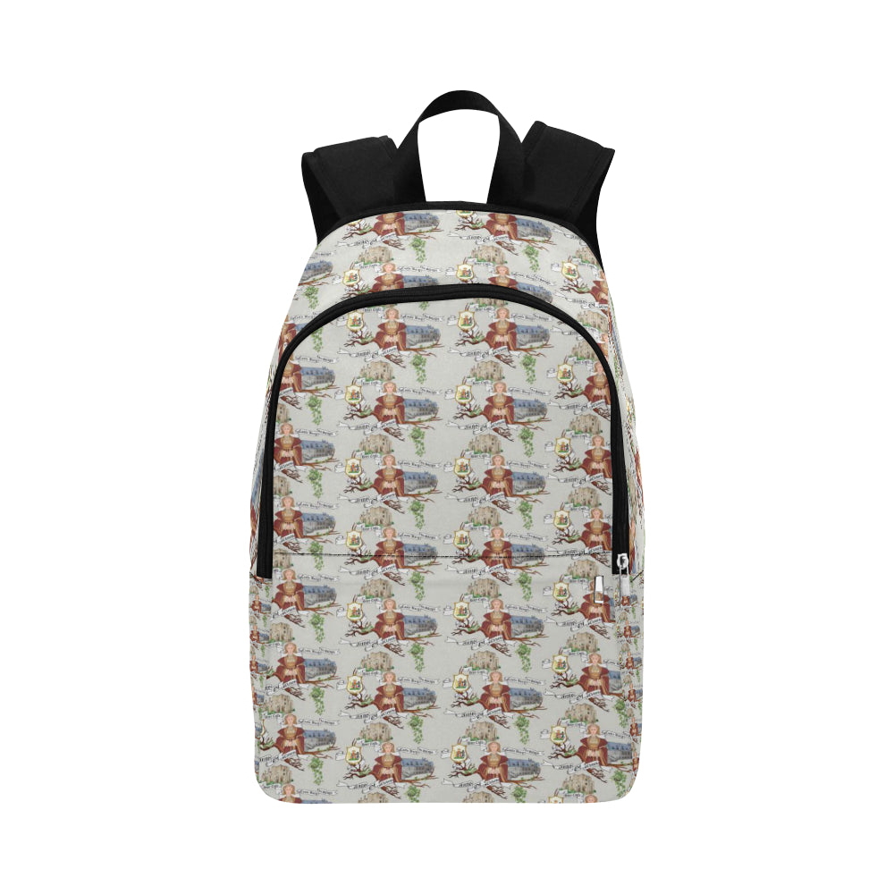 Anne of Cleves Fabric Backpack