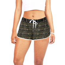 My Tudor Boyfriend Shorts Women's All Over Print Relaxed Shorts (Model L19)