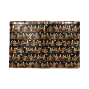 Queens Dinner Party B5 Custom Notebook/Journal