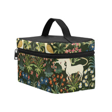 Medieval Unicorn Tapestry Cosmetic Bag