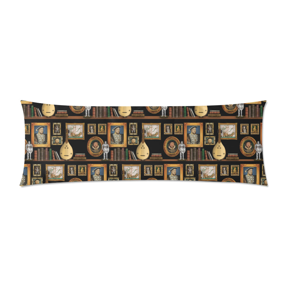 Henry VIII Zippered Pillowcase 21