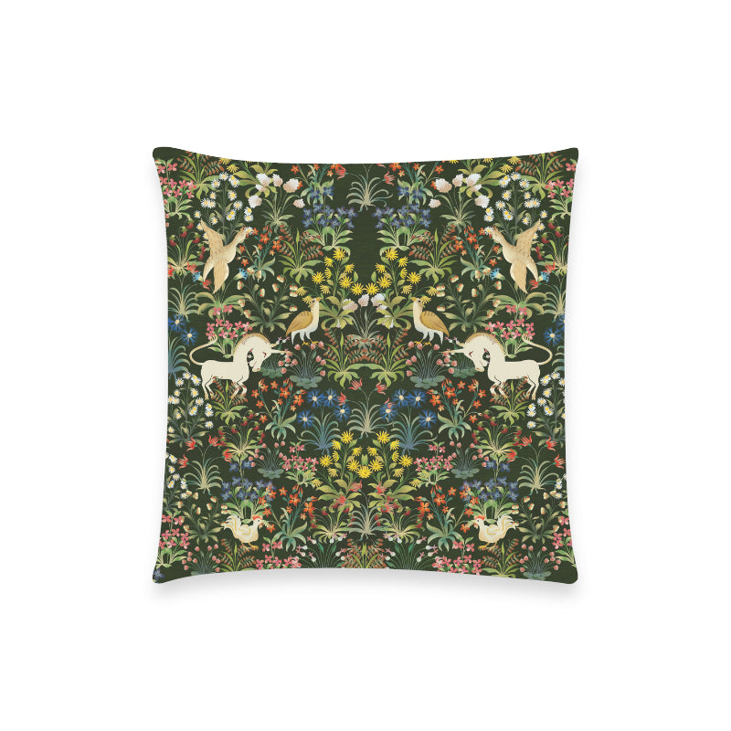Medieval Unicorn Tapestry Pillowcase 18