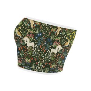 Unicorn Tapestry Bandeau Top
