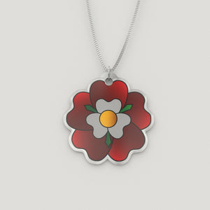 Tudor Rose Charm Necklace