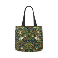 Medieval Unicorn Tapestry Canvas Tote Bag (Two sides)