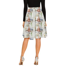 Anne of Cleves Melete Pleated Midi Skirt