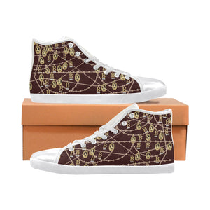 Anne Boleyn Sneakers Women's High Top Canvas Shoes