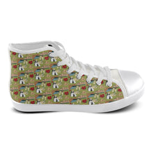 Catherine of Aragon Andalucian Princess Women's High Top Canvas Shoes