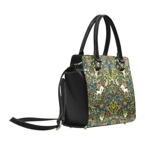 Medieval Unicorn Tapestry Classic Shoulder Handbag