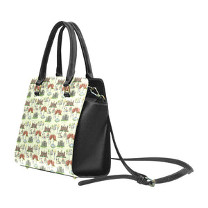 Anne Boleyn's Homes and a Summer English Garden Classic Shoulder Handbag