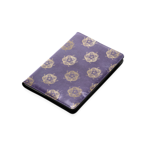 Purple and Gold A5 Journal Notebook