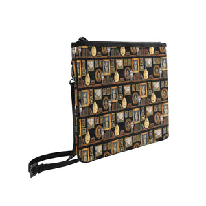 Henry VIII Slim Clutch Bag