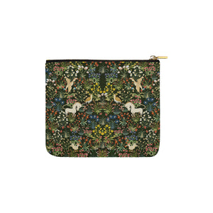 Unicorn Tapestry Accessory Pouch 6''x5''
