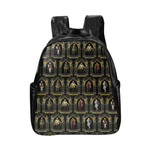 My Tudor Boyfriend Multi-Pockets Backpack