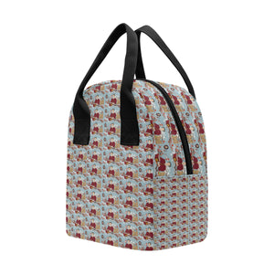 katherine parr lunch bag 2 Insulated Zipper Lunch Bag (Model 1689)