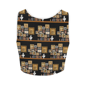 Six Wives Women's Crop Top