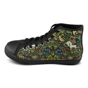 Unicorn Chuck Taylor High Top High Top Canvas Women's Shoes/Large Size (Model 002)