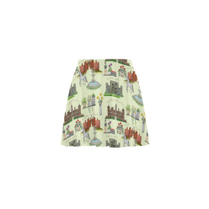 Anne Boleyn's Homes and a Summer English Garden Mini Skating Skirt