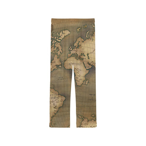 Old Map Women's Pajama Pants