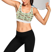 Anne Boleyn's Homes and a Summer English Garden Women's Sports Bra