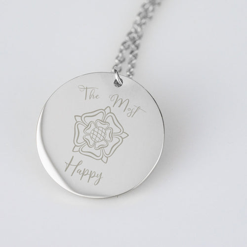 The Most Happy Anne Boleyn Stainless Steel Necklace