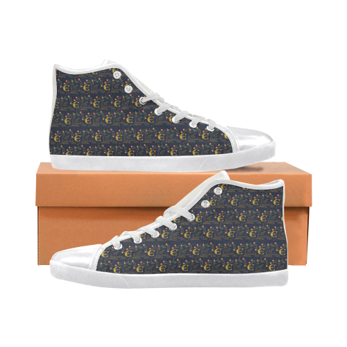 Elizabeth I Signature High Tops Canvas Shoes