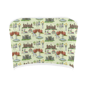 Anne Boleyn's Homes and a Summer English Garden Bandeau Top