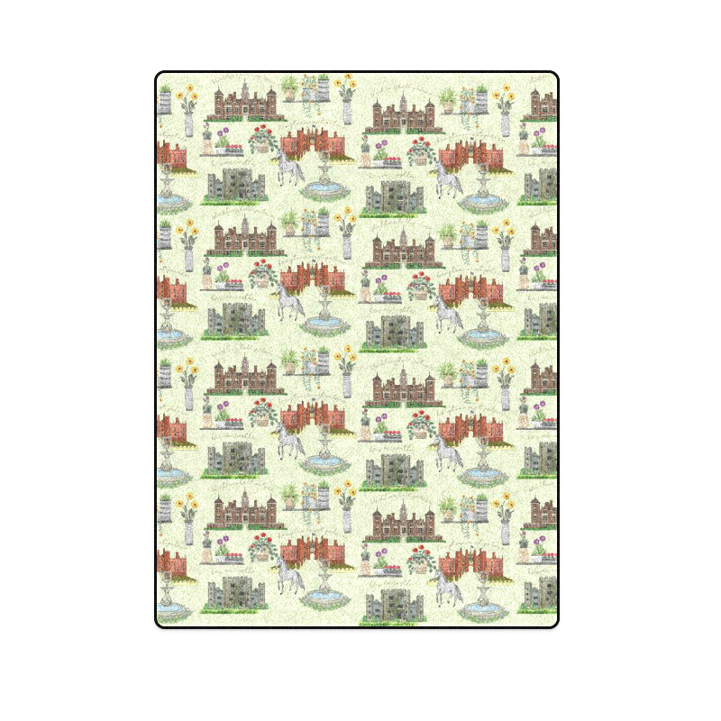 Anne Boleyn's Homes and a Summer English Garden Blanket 58