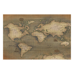 Old Map 1000-Piece Jigsaw Puzzle