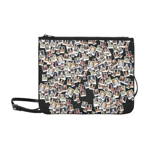 Elizabeth I Portrait Slim Clutch Bag