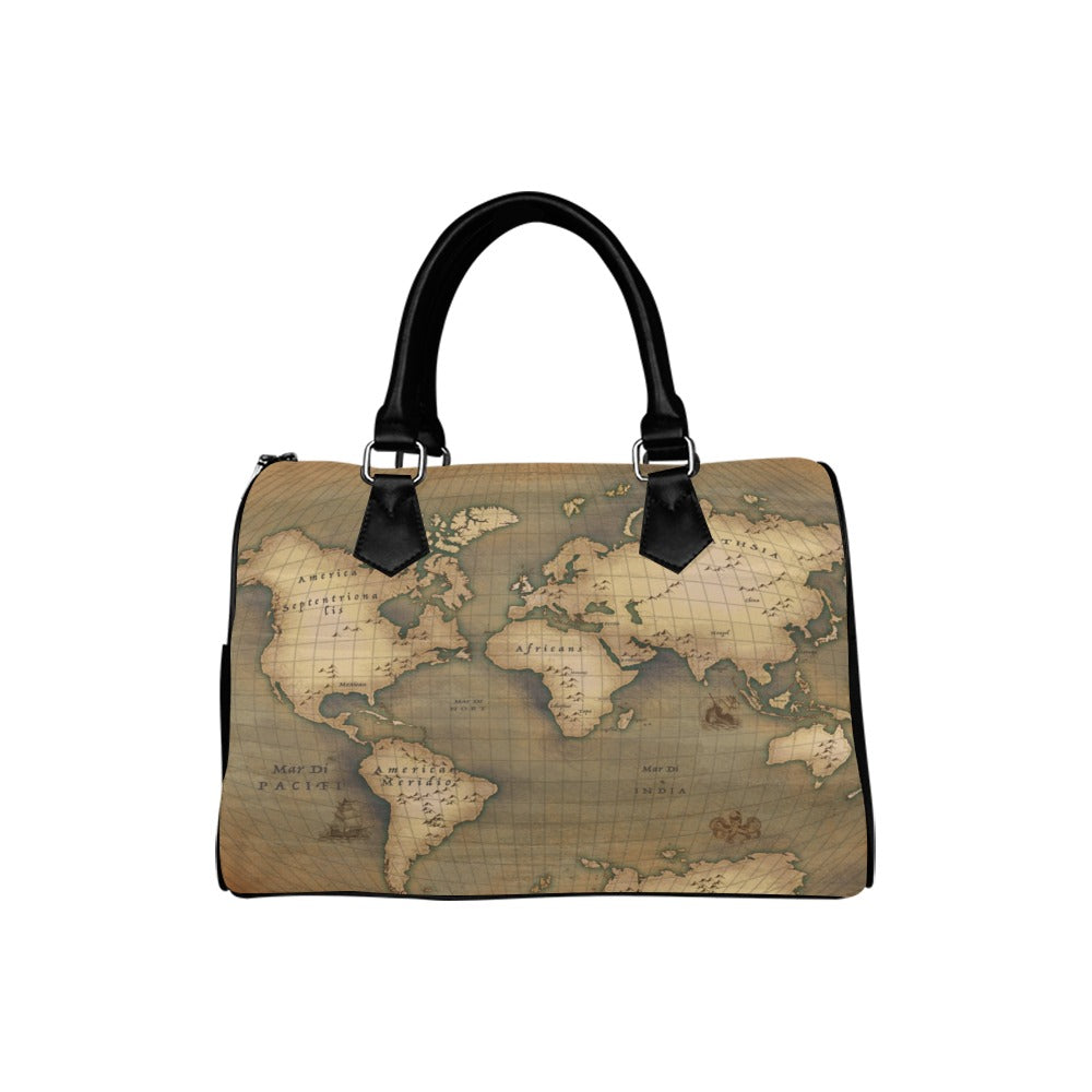 Old Map Boston Handbag