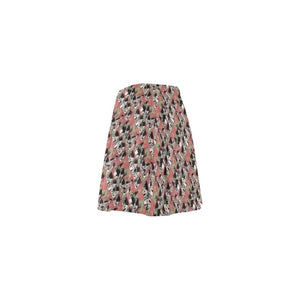 Medieval Village Mini Skater Skirt