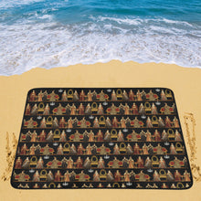 Six Wives Dinner Party Portable & Foldable Mat