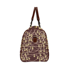 Anne Boleyn Portrait Pattern Waterproof Travel Bag/Small