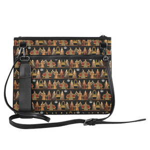 Six Wives Slim Clutch Bag (Model 1668)