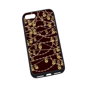 "Anne Boleyn Portrait Pattern iPhone 7 4.7"" Rubber Case"