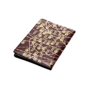 Anne Boleyn A5 portrait pattern custom notebook/journal