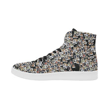 Elizabeth I Canvas High Top Retro Women's Sneakers