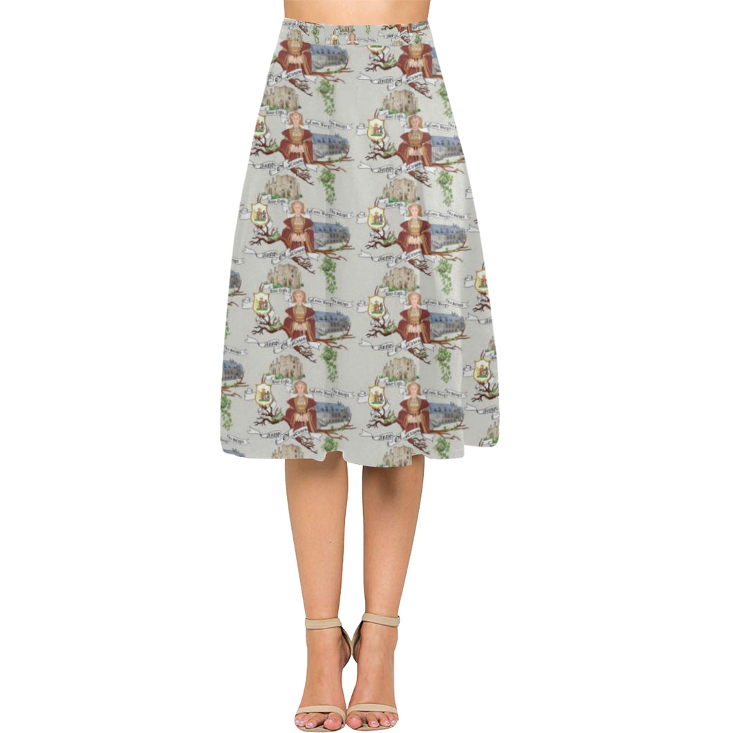 Anne of Cleves Aoede Crepe Skirt