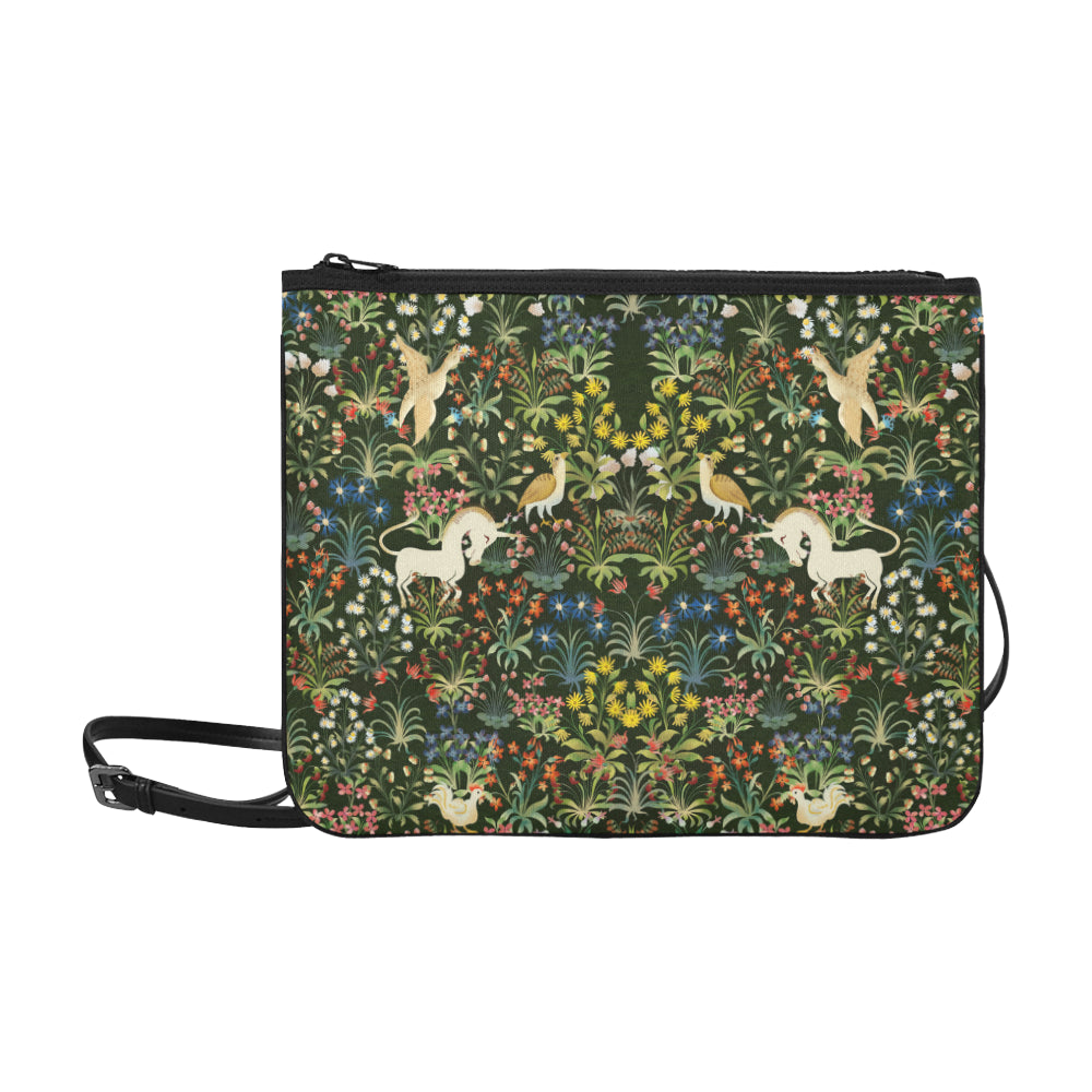 Unicorn Slim Clutch Bag