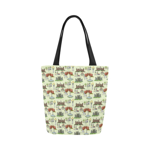 Anne Boleyn's Homes and a Summer English Garden Canvas Tote Bag