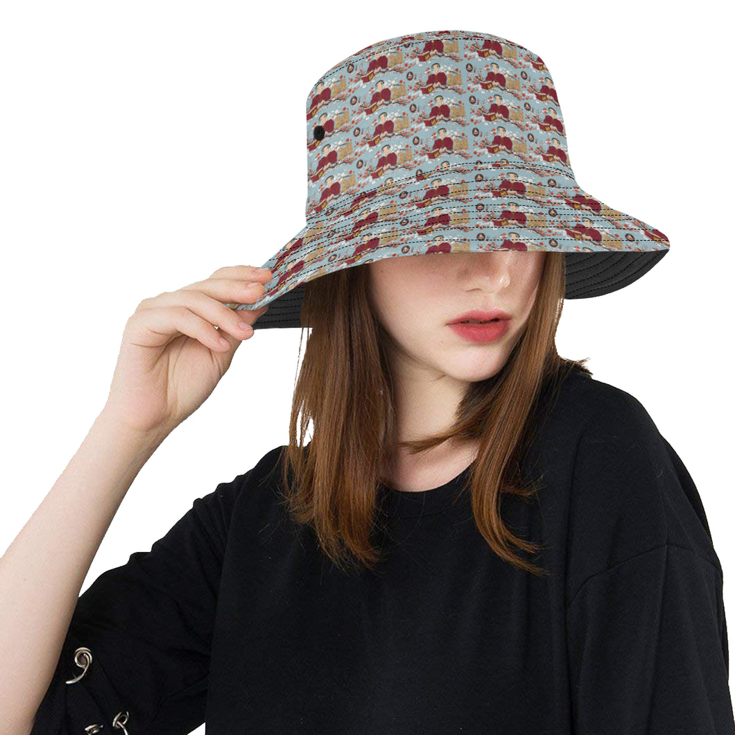 katherine parr hat All Over Print Bucket Hat